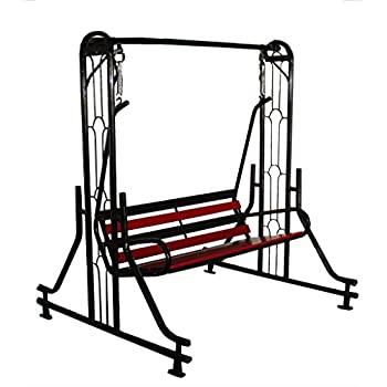 Kaushalendra Indoor Swing Jhula For Home with Stand 300 kg ...