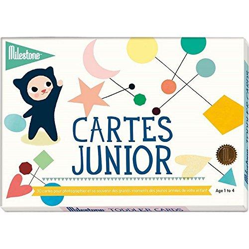 Milestone Cards - Journal et livre de naissance - Cartes souvenirs Juniors Milestone