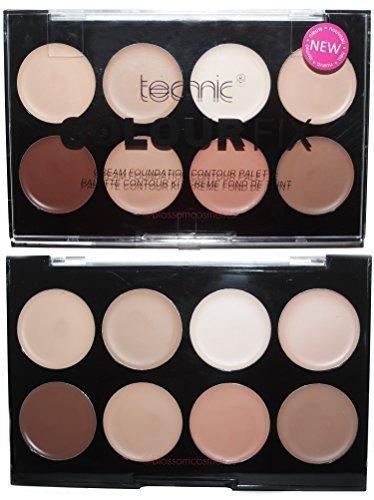 TECHNIC Colour Fix Crème Foundation Contour Palette Kit by Technic