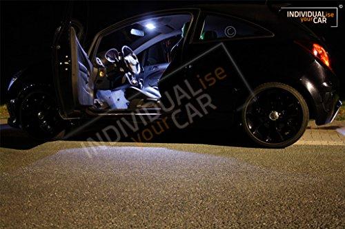 Innenraumbeleuchtung SET für Corsa D 3-Türer - Cool-White