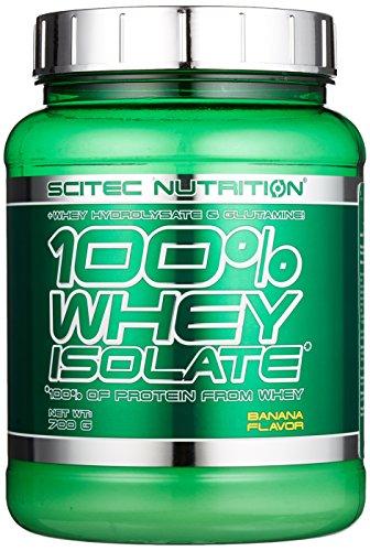 Scitec Nutrition Whey Isolate Banane, 1er Pack (1 x 700 g)