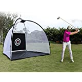 Etuoji Portable Golf Net Ball Hitting with Chipping Target and Carry Bag Large Size