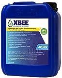 Xbee Universal Kraftstoff-Systemreiniger ohne Chemie I Injektoren Reiniger Diesel, Benzin UVM I Additiv Motor Reiniger Kraftstoffadditiv Kraftstoffzusatz Motorpflege I Motor-System-Reiniger (5 Liter)