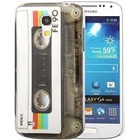 Hardcase / Hülle Samsung Galaxy S4 mini / GT-I9190 CASSETTE Musik-Kassette Schutzhülle Case Back Cover Schale Vintage
