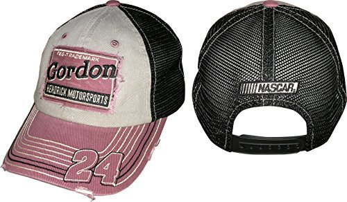 jeff-gordon-hendrick-motorsports-checkered-flag-sports-2015-mesh-trucker-nascar-cap-hat-by-checkered