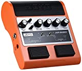 "JOYO JAM-BUDDY ORANGE PEDALE DUAL CHANNEL AMP SIMULATOR BATTERIA RICARICABILE BLUETOOTH DOPPIO AMPLIFICATORE 2"" 4+4 WATT"