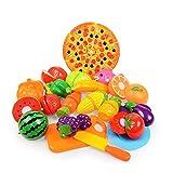 MXECO Gemüse und Obst Kinderküche Spielzeug Set Puzzle Frühkindliches Spielzeug Kinderspielhaus Spielzeug ((Blasflasche))