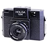 Holga 120N Mittelformatkamera, schwarz