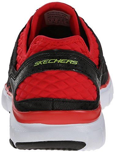 Skechers Skech-Flex Life Force, Sneakers basses homme Noir