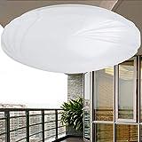 LED Plafonnier Lampes Acrylique Ronde pour Enfants Lustre Suspension Luminaire Lampadaire Chambre Abat Jour Lampe Deco,Warm-Light,21cm