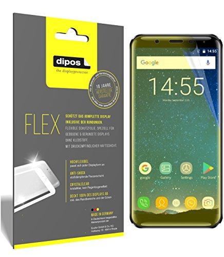 dipos I 3X Schutzfolie 100% passend für Oukitel K5000 Folie (Vollständige Bildschirmabdeckung) Bildschirmschutzfolie