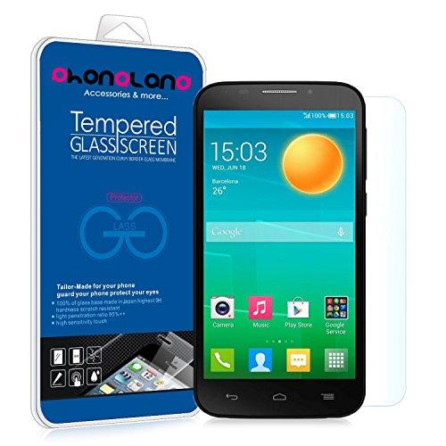 PHONELAND Protector Pantalla de Cristal Templado Premium para Alcatel U5 3G/U5 3G Plus/U5 4G