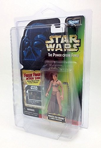 Star Wars Vintage 1995 Princess Leia in Slave Outfit with Protective Case