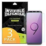 Protecteur d'écran pour Samsung Galaxy S9 Invisible Defender [Couverture...
