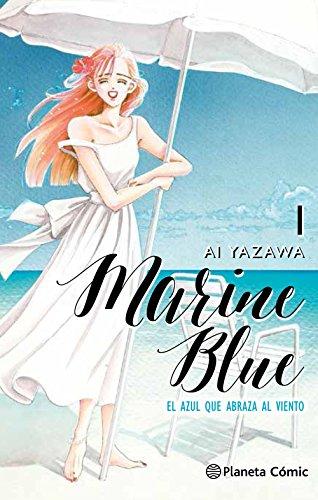 Marine Blue nº 01/04: El azul que abraza al viento (Manga Shojo)