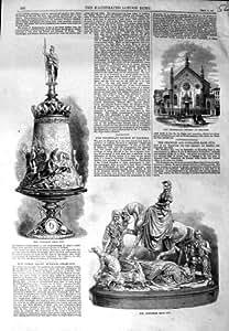 LEGHORN D'ÉGLISE DE DONCASTER DE TASSE DE RACE DE CHEVAL DE 1864 STOCKTON
