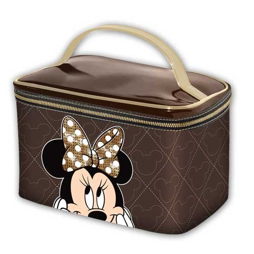 Disney Minnie Mouse - Chocolat - Vanity Case, 1er Pack (1 x 280 g) (Handtasche Tasche Case Vanity)