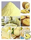 Polvere Durian Monthong - Ottimo per preparare torte Durian, gelati e ingredienti per cucinare - 100g / 3,5oz