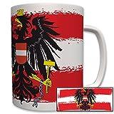 Republik Österreich Fahne Flagge Adler- Tasse Becher Kaffee #5989