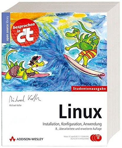 Linux - Studentenausgabe (mit drei DVDs: Fedora 9, openSUSE 11 und Ubuntu 8.04)