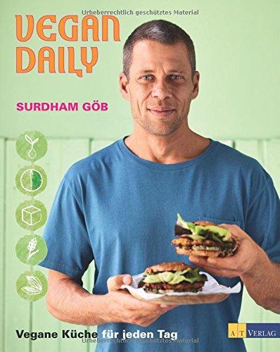 Buchseite und Rezensionen zu 'Vegan Daily: Vegane Küche für jeden Tag' von Surdham Göb