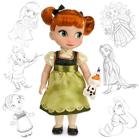 Anna aus gefrorenen Animator Puppe