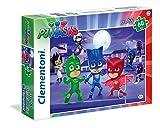 Clementoni 26423 - Puzzle 60 Maxi Pj Masks immagine