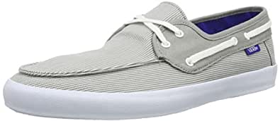 Vans Mens M CHAUFFEUR  GRAY/WHITE/WHIT Low Gray Grau (gray/white/whit) Size: 5
