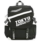CoolChange Tokyo Ghoul großer Leinen Rucksack mit PU Leder