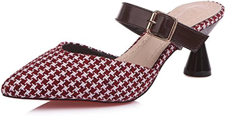 Nuevas Zapatillas Frescas, Nuevas Zapatillas de Verano, Zapatillas de Dedo con Punta de Mujer, Colores Europeos...