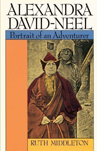 Portada del libro Alexandra David-Neel: Portait of an Adventurer 1st edition by Middleton, Ruth (1989) Paperback