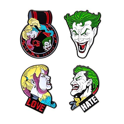 DC Comics Collectors Pins 4-Pack Batman Sales Broschen