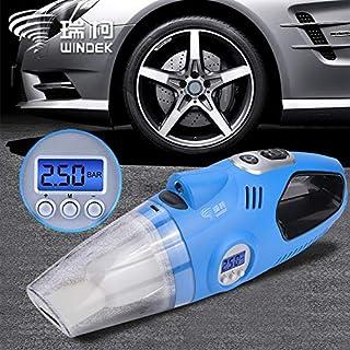 12 V Auto Auto Elektrische Luftkompressor Reifenfüller Pumpe Hand Auto Staubsauger Auto Tragbare Staubbürste für Auto