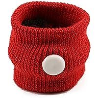 QWhing - Correa de Viaje para el Coche, diseño de Enfermos, Color Rojo