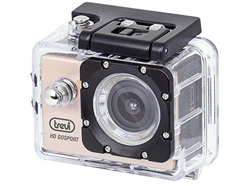 Trevi GO 2200 S2 Videocamera Action Cam Sport Wi-Fi Full HD con Custodia Subacquea, Immersioni fino a 30 m, Ampio Angolo di Ripresa, Microfono Integrato, Batteria Ricaricabile