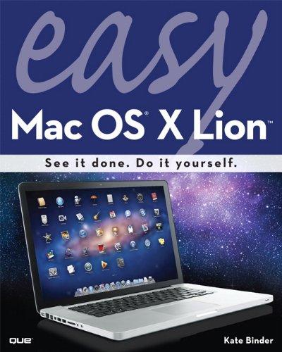 Meilleures ventes de livres électroniques gratuits Easy Mac OS X Lion B005OR9NNY PDF ePub MOBI
