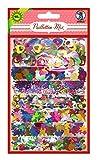 Ursus 56450099 - Paillettenmix, sortiert in 6 Farben, verschiedenen Formen, 40 g, bunt