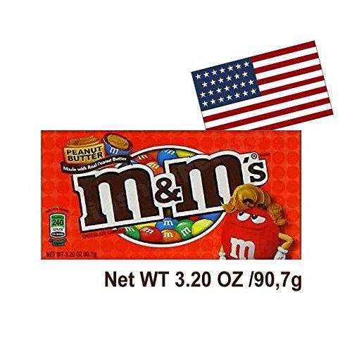 M&M Peanut Butter Theatre Box 3.2 OZ (90.7g)