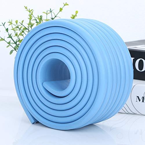 Universal Eckenschutz Schutzecken Sicherheits Schutz Ecken Kantenschutz Sicherungspuffer Schutzkappen Schaumstoff Tischkantenschutz Stoßschutz selbstklebend 2m Blau 80mmx8mm