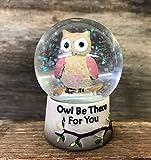 Eule sein, für You ~ Cute Eule glitter Snow Globe