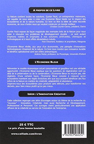 L'économie bleue : 10 ans, 100 innovations, 100 millions d'emplois