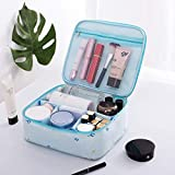 Travel Small Cosmetic Bags with Compartments Cute Upgrade Thicken Organizer Pouch for Women...
