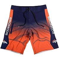 Forever Collectibles Denver Broncos NFL Gradient Men's Boardshorts Swim Trunks