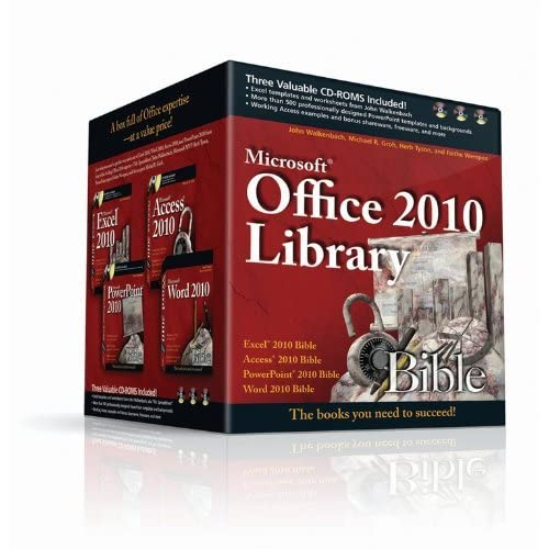 [Office 2010 Library: Excel 2010 Bible, Access 2010 Bible, PowerPoint 2010 Bible, Word 2010 Bible] [By: Walkenbach, John] [February, 2011]