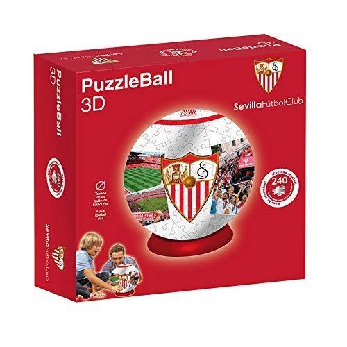 Sevilla FC Puzzleball (Tamaño Balón) 8,4 (10605), Multicolor (Eleven Force 1)