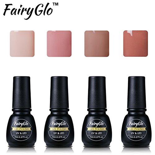 uv-nagellack-shellac-set-fairyglo-gel-nagellack-nail-polish-set-soak-off-gel-pure-farbe-4xstuck-7ml