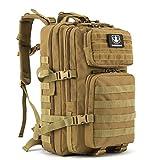Gonex 35L taktischer Rucksack, Barbarians Molle Tasche Militärischer Assault Rucksack für Outdoor...