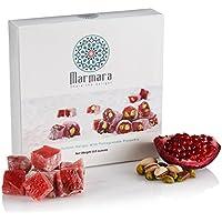 Marmara Foods delicias turcas grande de color rojo oscuro y magenta