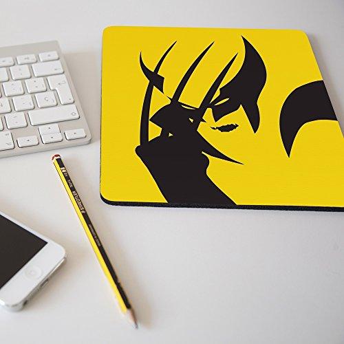 Alfombrilla para ratón regalo original diseño Lobezno superhéroe