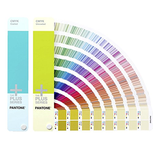 PANTONE PLUS GP5101 CMYK Guide Set Coated & Uncoated [Set aus zwei Fächern] -